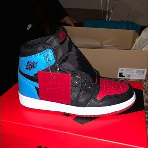 Air Jordan1 UNC TO CHICAGO Size W6 M3 Brand New Ds